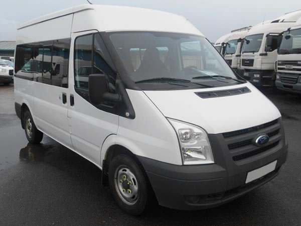12 seater mini-bus rental derby